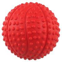 Míček DOG FANTASY basketball s bodlinami pískací mix barev 5,5cm