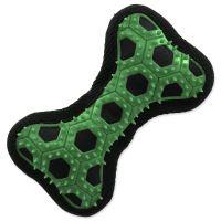 Hračka DOG FANTASY Hextex kost zelená 14,5cm