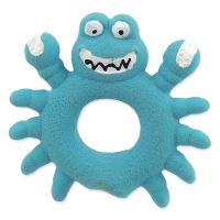 Hračka DOG FANTASY Latex Krab modrý se zvukem 10cm
