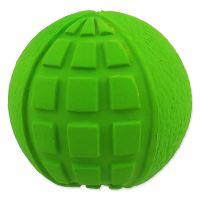 Hračka DOG FANTASY Latex Míč zelený se zvukem 7cm