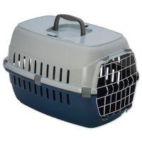 Přepravka DOG FANTASY Carrier modrá 48,5 cm 1ks