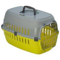 Přepravka DOG FANTASY Carrier žlutá 48,5cm