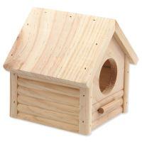 Domek SMALL ANIMAL Budka dřevěný 12x12x13,5cm