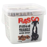 Pochoutka RASCO plněný trojúhelníček sjátry 750g