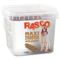 Pochoutka RASCO hvězda natural s drůbeží 800g