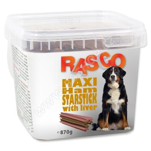 Pochoutka RASCO hvězda šunková sjátry 800g