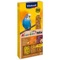 Vitakraft Kracker Sittich Honey + Egg + Fruit pro andulky 3ks