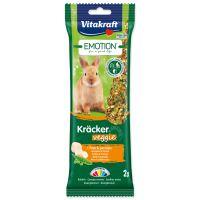 Tyčinky VITAKRAFT Emotion Kracker Veggie pro králíky 112g