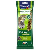 Tyčinky VITAKRAFT Emotion Kracker Herbal pro malé hlodavce 75g