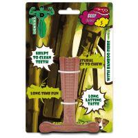 Hračka Mr.DENTAL žvýkací bambone kladivo hovězí S