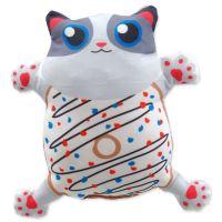 Hračka LET`S PLAY kočka s catnipem 6 - 14cm