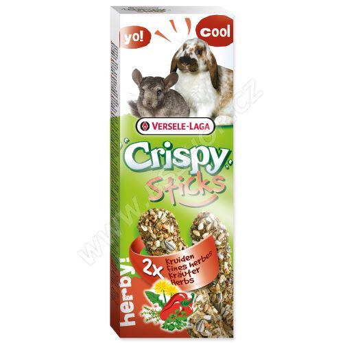 Tyčinky VERSELE-LAGA Crispy s bylinami pro králíky a činčily 110g