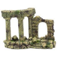 Dekorace AQUA EXCELLENT Zřícenina hradu 13x6x9cm