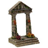 Dekorace AQUA EXCELLENT Zřícenina chrámu 9,5 cm