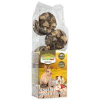 Pochoutka NATURE LAND Brunch sušenky s jablky a banány 120g