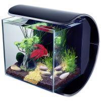 Akvárium set TETRA Silhouette LED černé - 31x31,5 x27,5cm, 12l