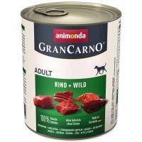 Konzerva ANIMONDA Gran Carno hovězí + zvěřina 800g