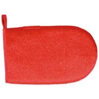 Rukavice na odstranění chlupů, oboustranná, červená Trixie