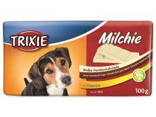 Milchie - čokoláda s vitamíny bílá 100g - TRIXIE