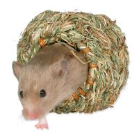 Pelíšek - travní hnízdo MALÉ pro myš, křečka 10cm TRIXIE