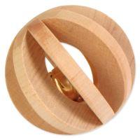 Hračka TRIXIE míček dřevěný 6 cm