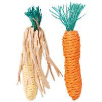 Hračka TRIXIE mrkev, kukuřice 15cm