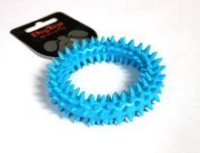 TPR dentální kroužek modrý 9x9x2,2cm