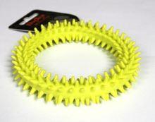 TPR dentální kruh zelený 11,5cm
