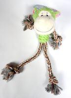 Přetahovadlo panák opička 35cm