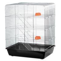 Klec REMY pro potkany chrom 58x38x71cm
