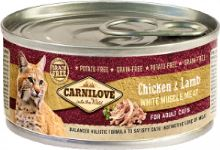 Carnilove White konzerva Mus Meat Chicken & Lamb Cats 100g
