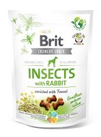 Brit Care Dog Crunchy Cracker Insects with Rabbit enriched with Fennel 200g