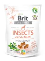 Brit Care Dog Crunchy Cracker Insects with Salmon enriched with Thyme 200g