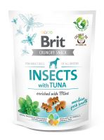 Brit Care Dog Crunchy Cracker Insects with Tuna enriched with Mint 200g