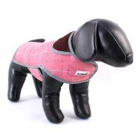 Kabát Doodlebone Tweedie růžový