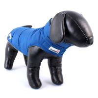 Zimní bunda Doodlebone Combi-Puffer modrá/žlutá