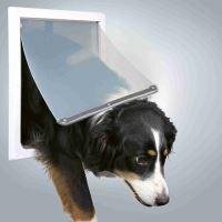 Průchozí dvířka pro psy M-XL dvoucestné 39x45cm Trixie