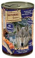 Natural Greatness konzerva losos, krůta, dýně, sladký brambor 400g