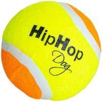Tenisový míč plněný, plovoucí 6,5cm HipHop Dog