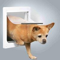 Průchozí dvířka pro psy XS-S dvoucestné 25x29cm Trixie