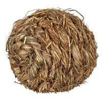 Míček s rolničkou z trávy 10 cm