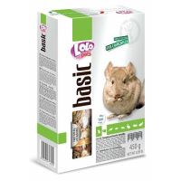 LOLO BASIC kompletní krmivo pro činčily 450g krabička
