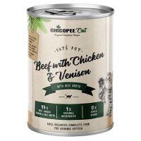 Chicopee Kitten paté hovězí, kuřecí, telecí konzerva pro koťata 400g