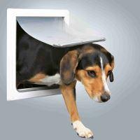 Průchozí dvířka pro psy S-M dvoucestné 30x36cm Trixie