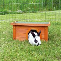 Natura králíkárna malá, hnědá 40x20x28cm