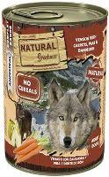 Natural Greatness konzerva zvěřina, mrkev, hruška 400g