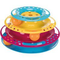 Kruhová věž/bubínek s míčky 25x13cm